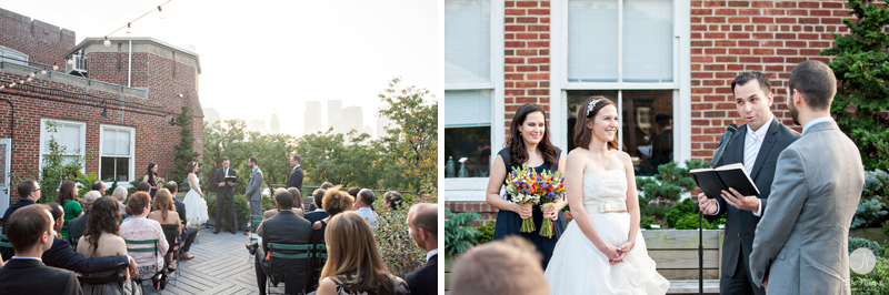 16 Central park Rooftop Wedding