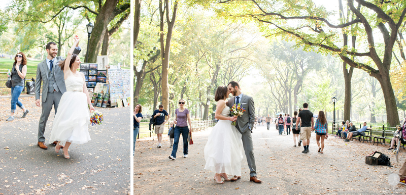 8 Get Married in Central Park