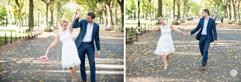 Married in Central Park
