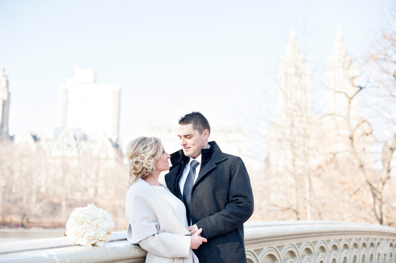 Elope in Central Park Bow Bridge