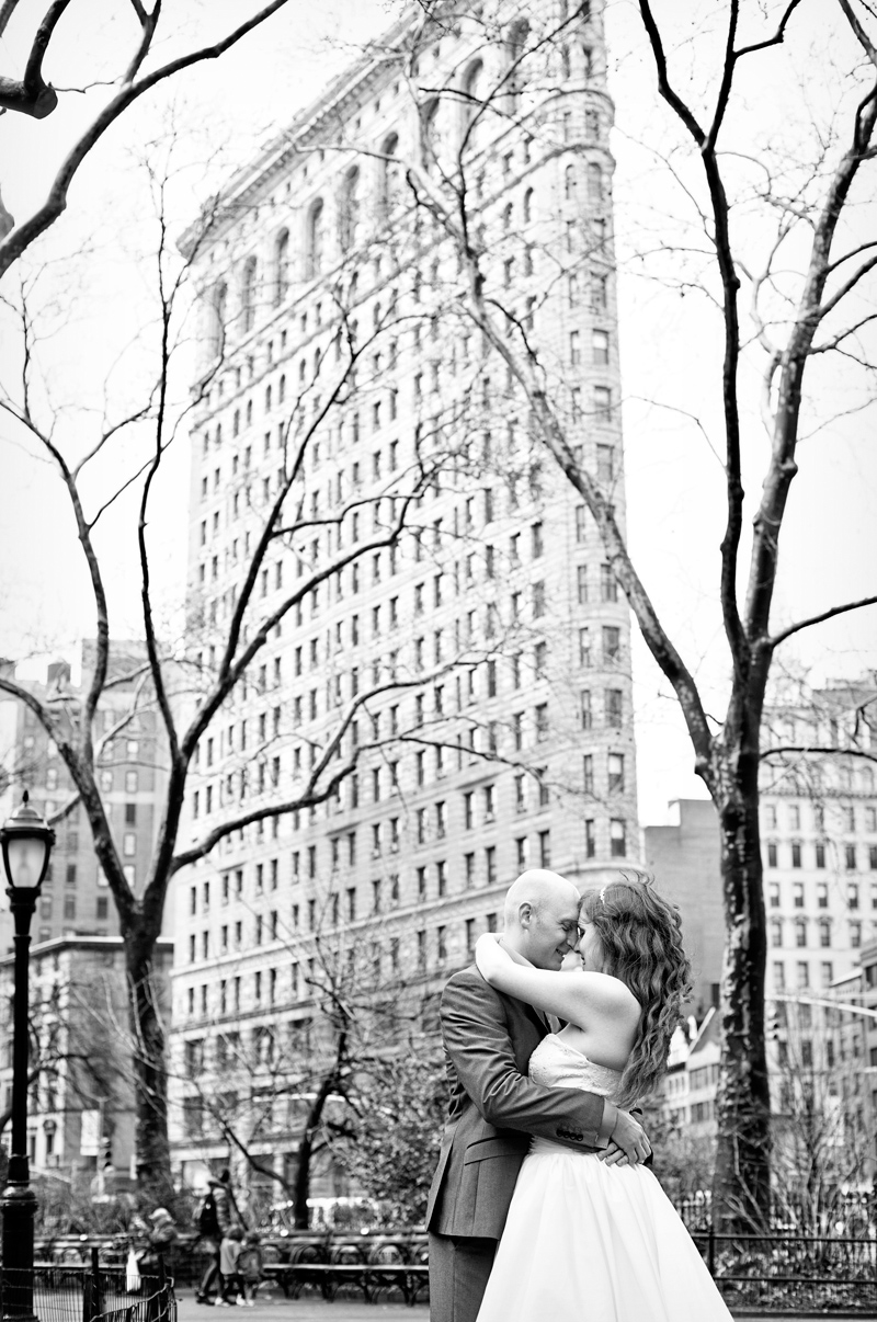 Flat Iron Building Wedding Photos