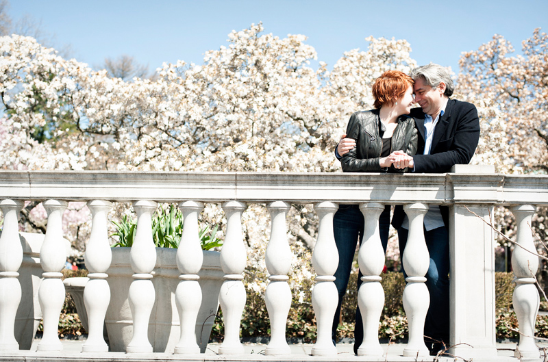 Brooklyn Botanic Garden Engagement Photos