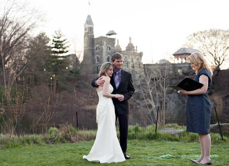 Elope at Belvedere Castle in Central Park