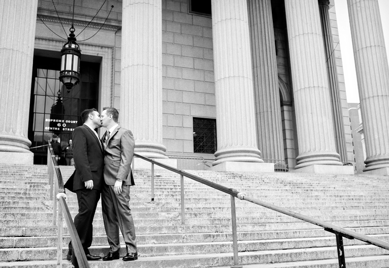 Wedding photos at the Courthouse NYC