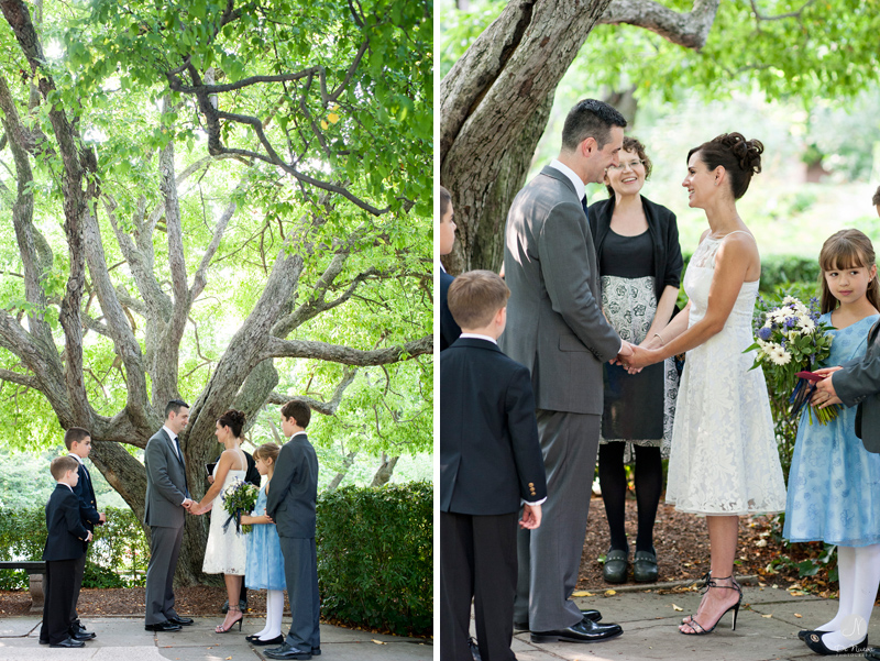 Conservatory Gardens Wedding Ceremony