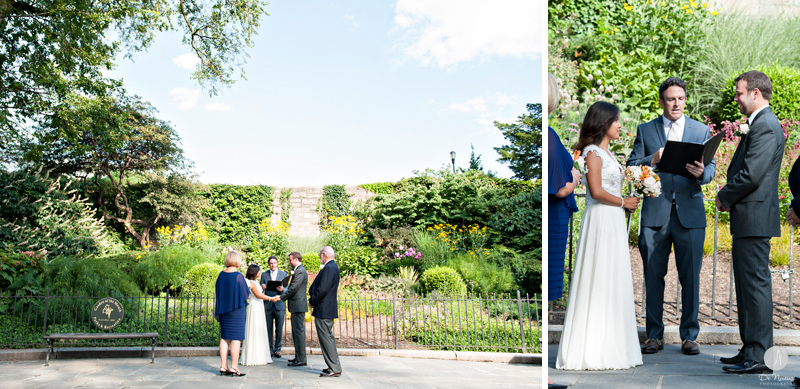 Wedding in Carl Schurz Park