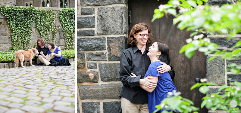Engagement Photos at the Cloisters