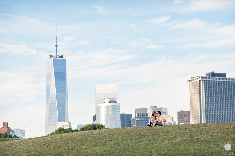 Engagement Photos on Governors Island NYC