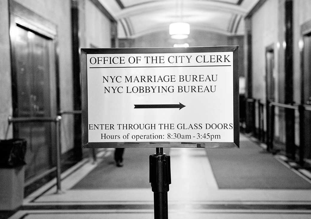 how to get married in nyc