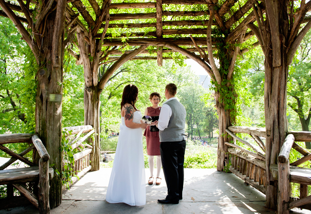 The best places to get married in central park for Popular wedding registry locations