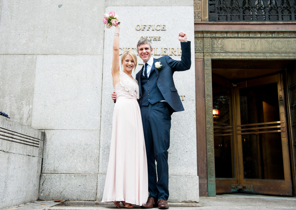 City Hall Wedding in New York
