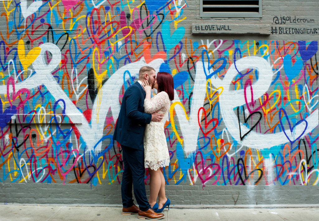 New york elopement at city hall kate alex for City mural projects