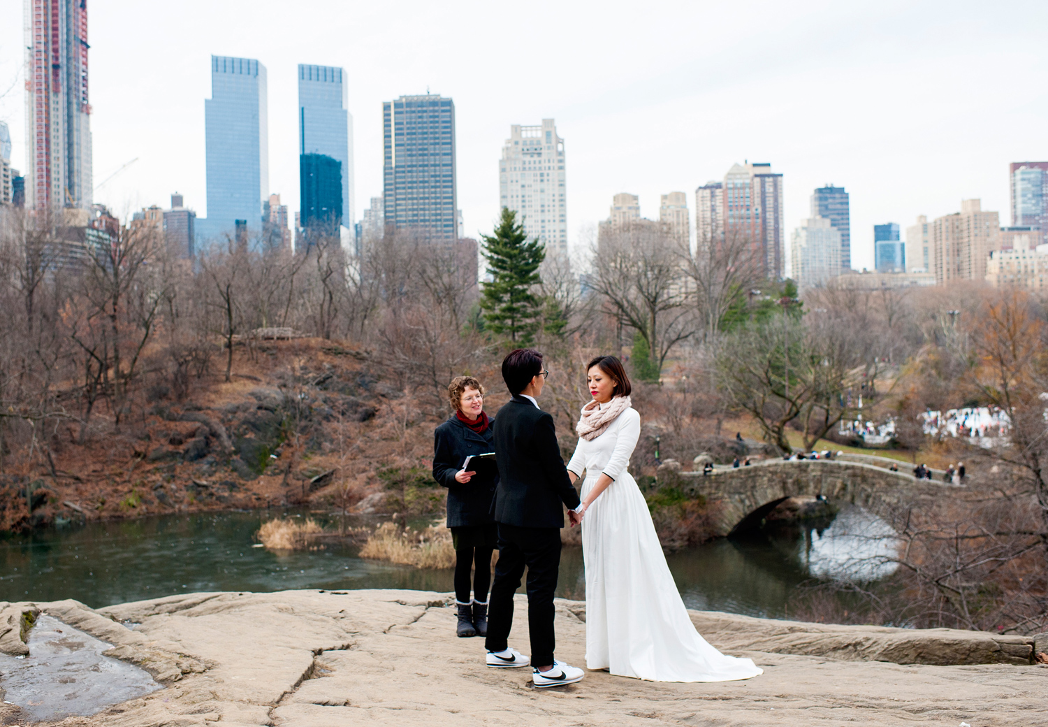 Central Park Wedding Photography: Central Park Wedding With A View