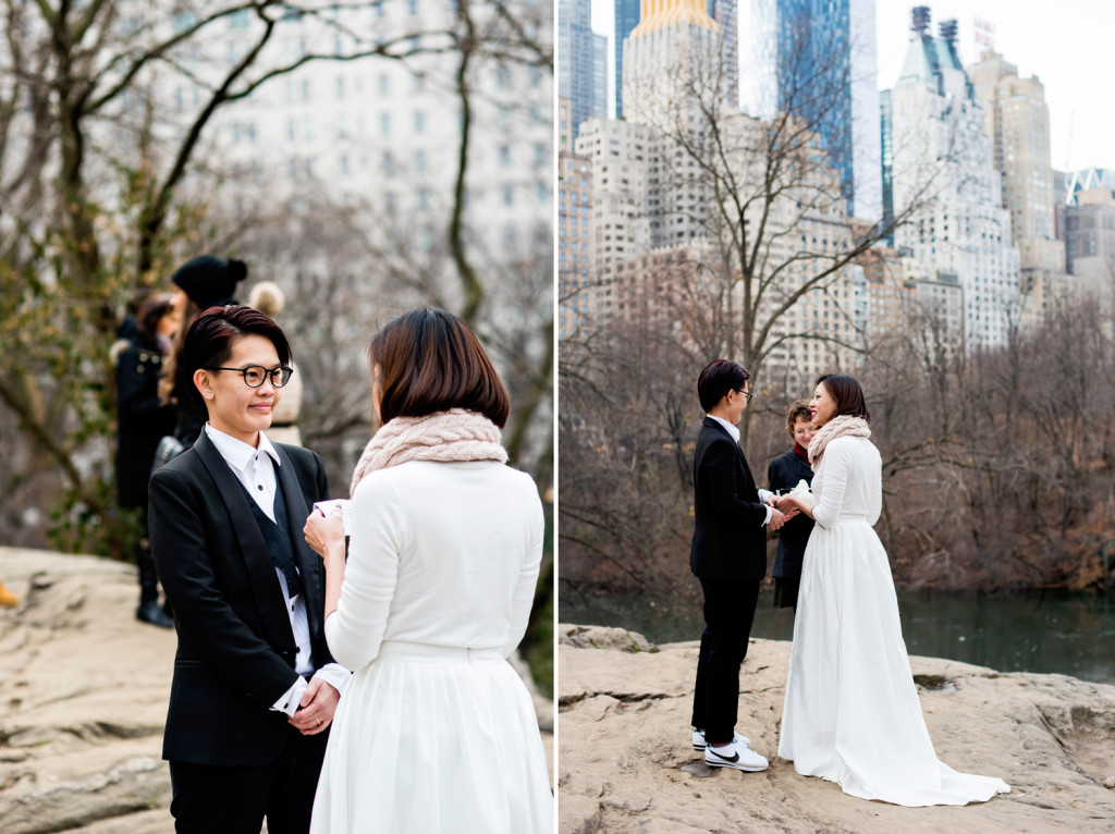 Central Park Wedding with a View