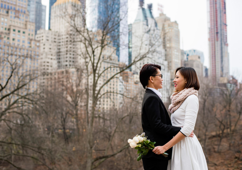 LGBTQ Elopement in NYC