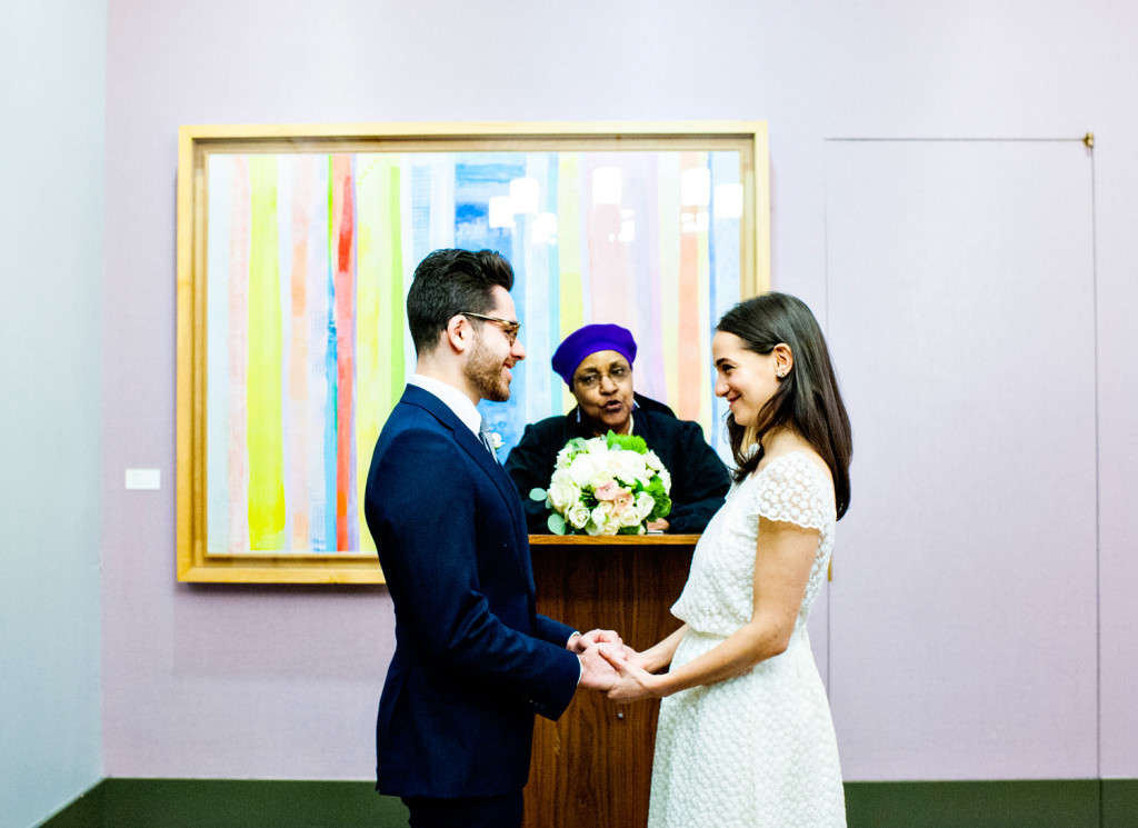 P I N T City Hall Elopement In New York Wedding