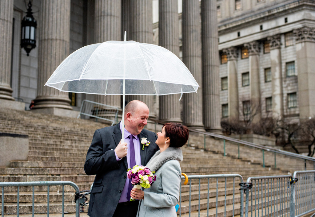City Hall Wedding in NYC