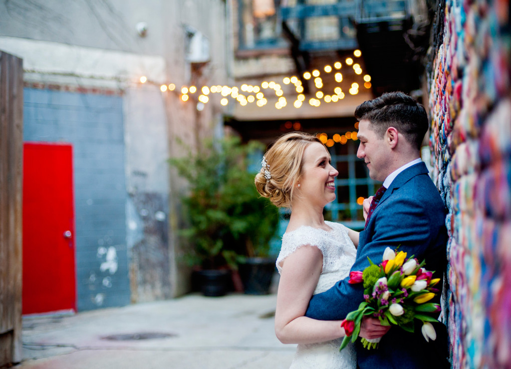 East Village Elopement Photo