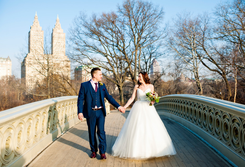 Bow Bridge Wedding Central Park