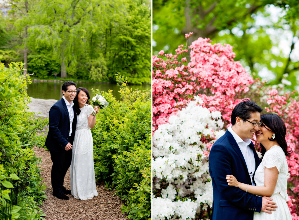 Central Park Wedding Photographer
