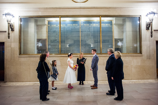 Grand Central Wedding Ceremony