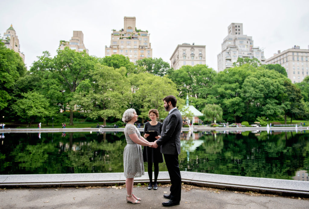 Conservatory Water Wedding Ceremony