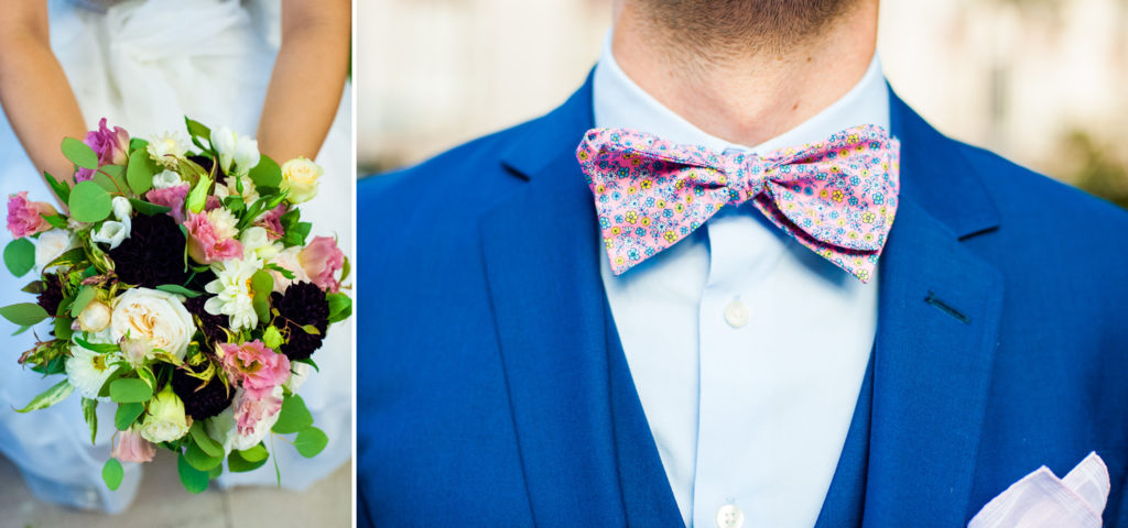 Colorful Groom Bowtie