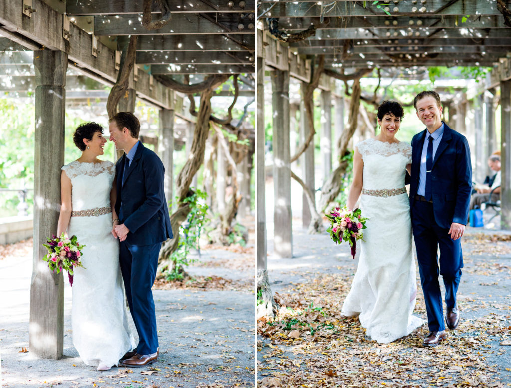 Central Park Wedding Photography: Central Park Wedding With Citi Bikes