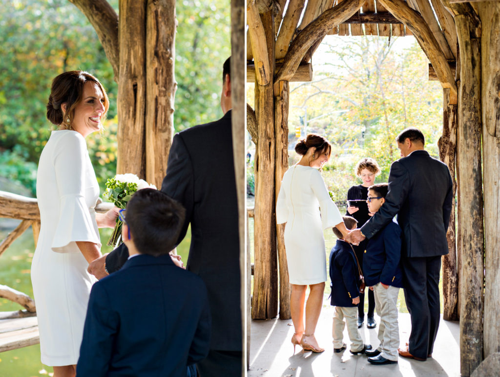 Central Park Wedding with Children