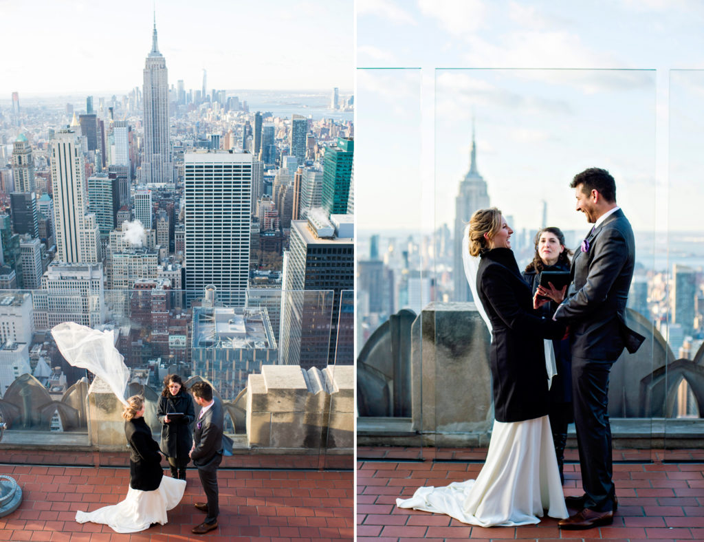 Top of the Rock Wedding