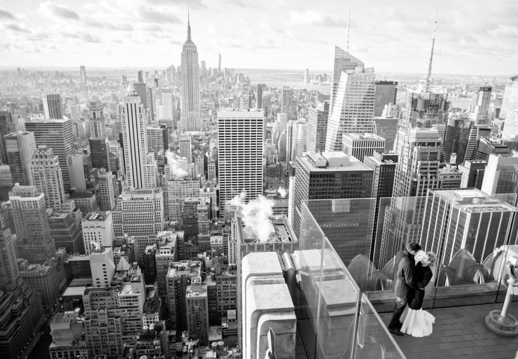 Getting Married at Top of the Rock