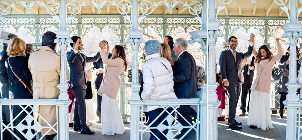 Small Wedding at Central Park Ladies Pavilion