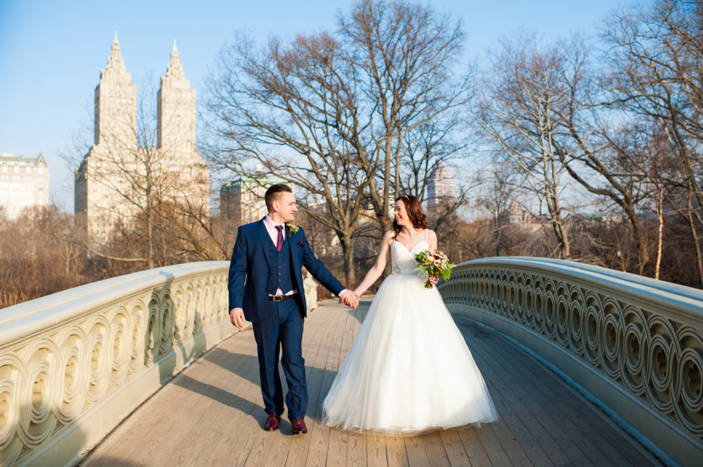 Bow Bridge Central Park Wedding
