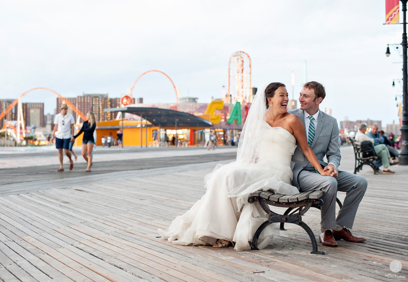 P I N T Coney Island Wedding