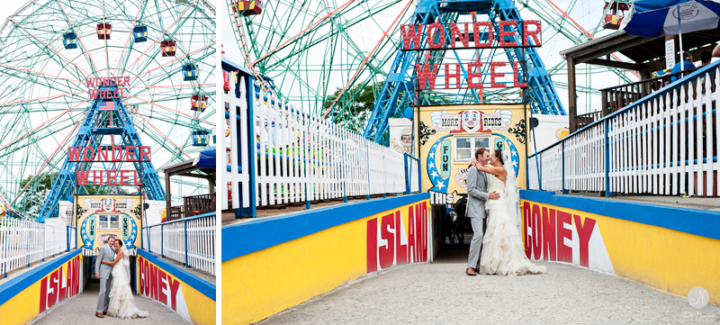 P I N T 002 Wedding Photos At Coney Island