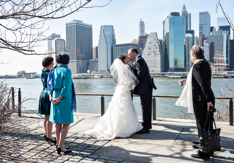 P I N T 002 Brooklyn Bridge Park Wedding Photographer