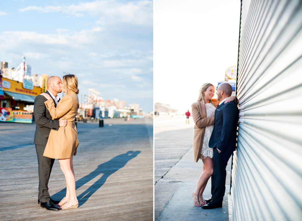 P I N T Coney Island Wedding Photos