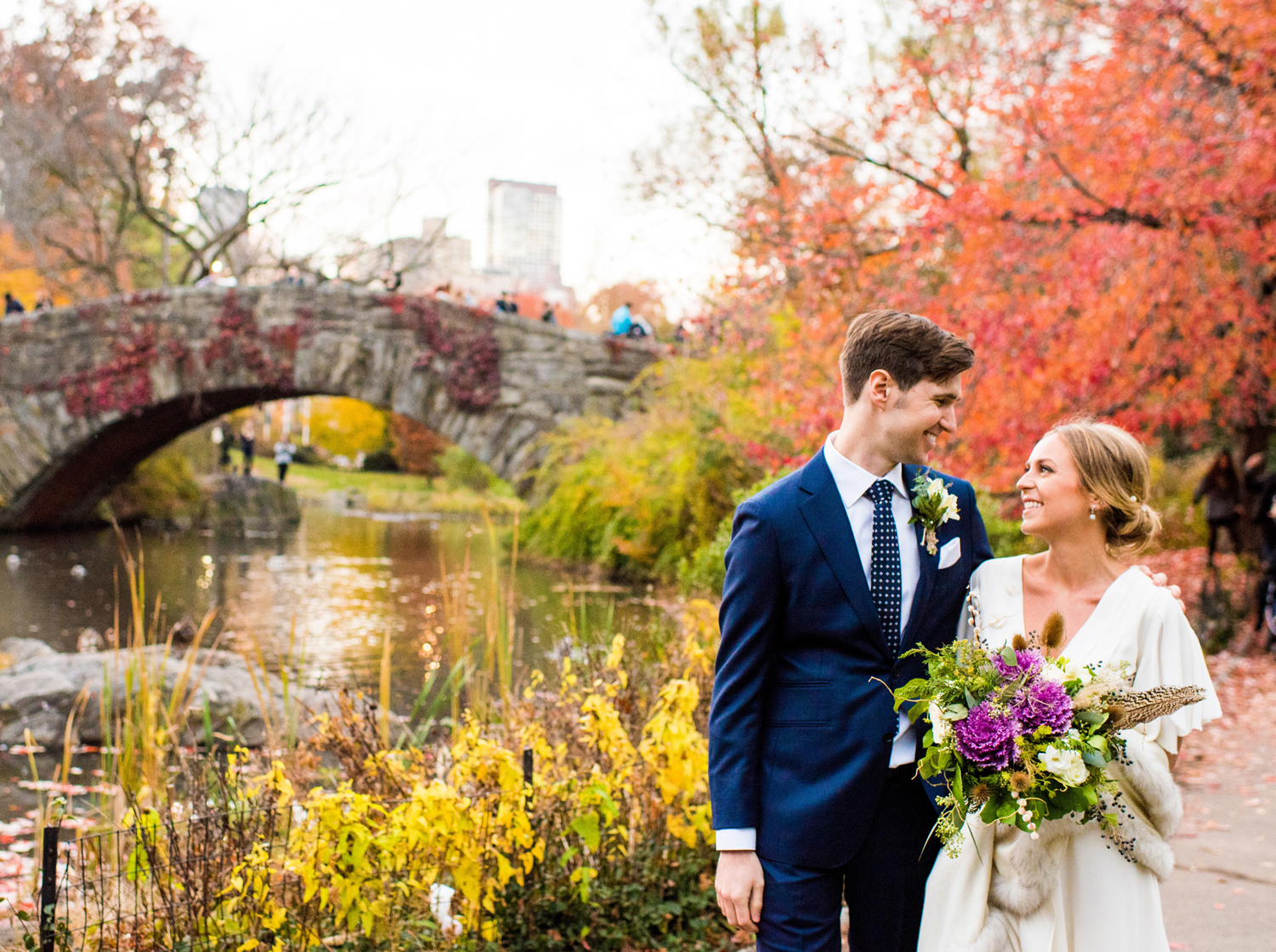wedding flowers nyc nyc wedding florist with sustainable local bouquets 9619